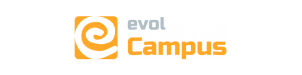 Logo de evolCampus LMS
