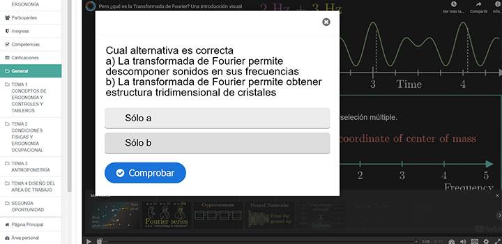 Video interactivo en H5P con Moodle